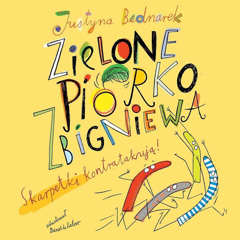 Zielone piórko Zbigniewa. Skarpetki kontratakują! (audiobook mp3) 24,50 zł.jpg