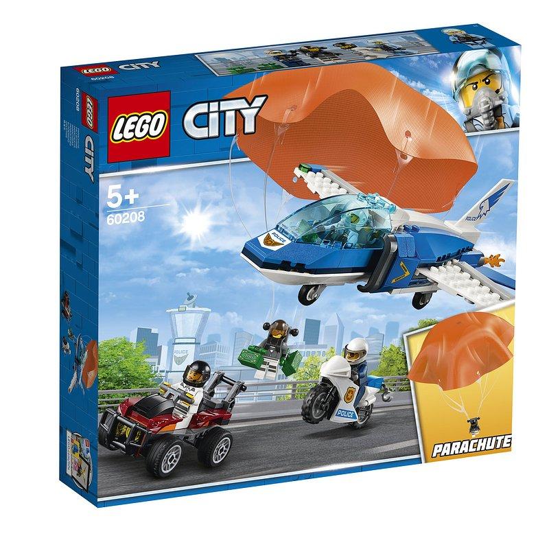 LEGO City, klocki Aresztowanie spadochroniarza 119,99 zł.jpg