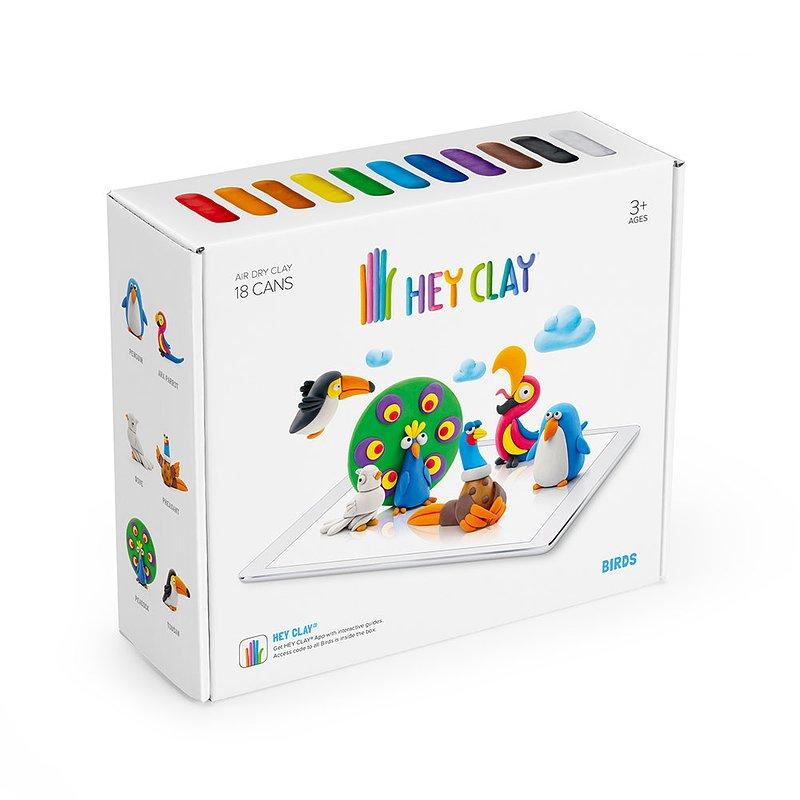 Hey Clay, masa plastyczna, Ptaki 84,99 zł.jpg