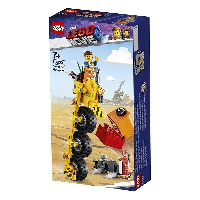 LEGO Movie 2, klocki Trójkołowiec Emmeta 59,99 zł.jpg