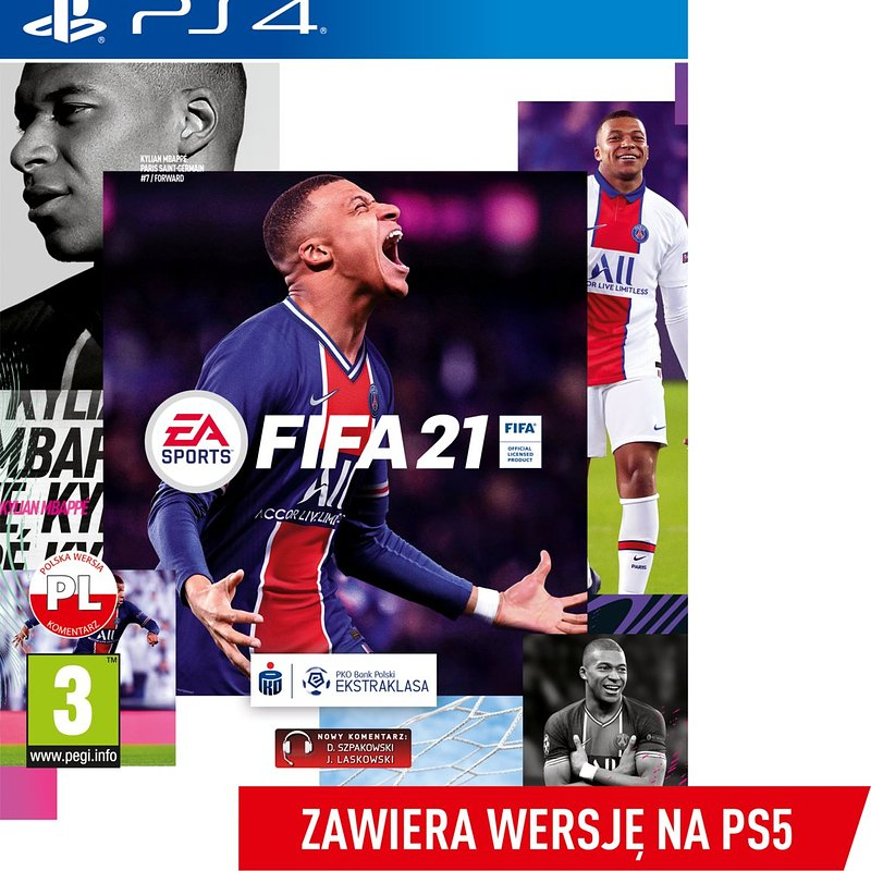FIFA 21 - zawiera darmową wersję gry na Playstation 5 (PlayStation 4) 239,99 zł.jpg