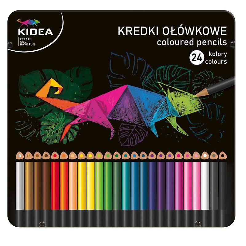Kredki ołówkowe, trójkątne, 24 kolory 23,01 zł.jpg