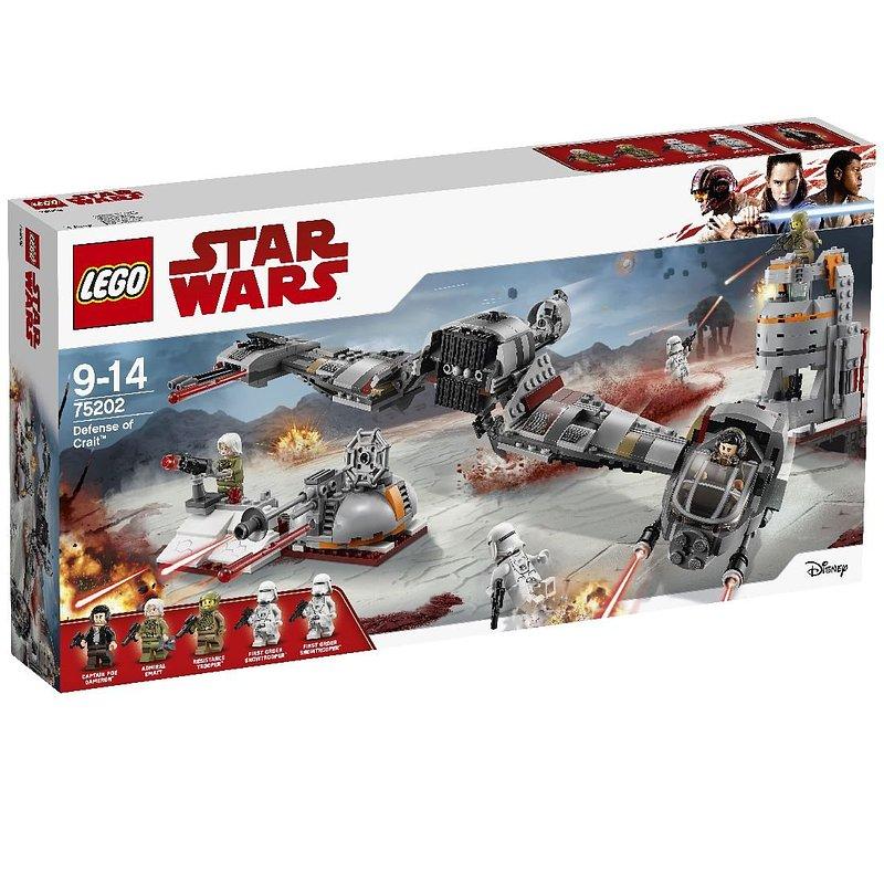 LEGO Star Wars, klocki Obrona Crait 379,99 zł.jpg