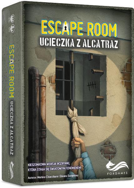 FoxGames, gra logiczna Escape Rooom. Ucieczka z Alcatraz 28,03 zł.jpg