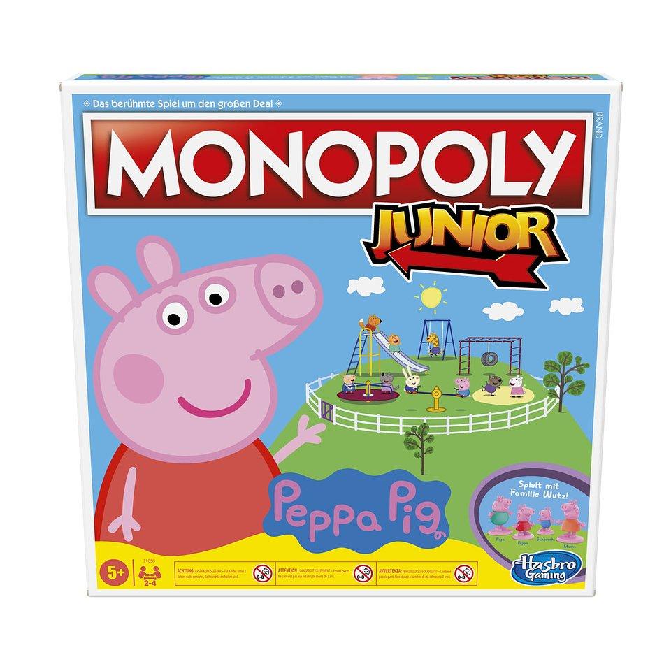 Świnka Peppa, gra planszowa Monopoly Junior 108,99 zł.jpg