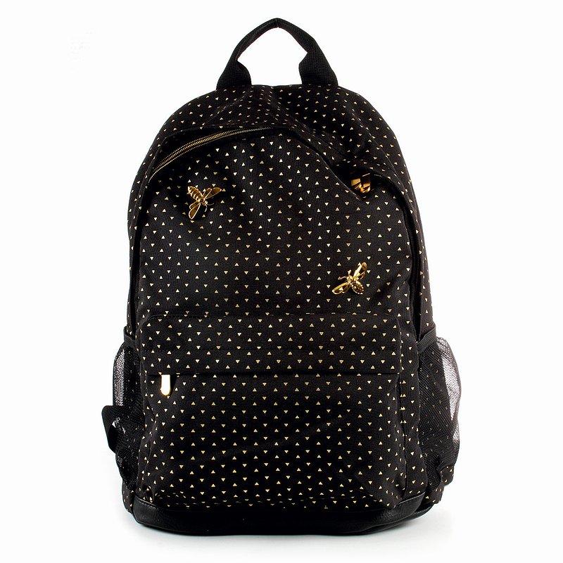 89,99 zł Plecak szkolny, Bee Happy, trójkąty.jpg