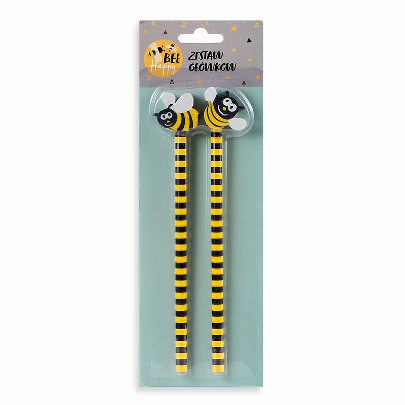 9,99 zł Zestaw ołówków, Bee Happy, 2 szt..jpg