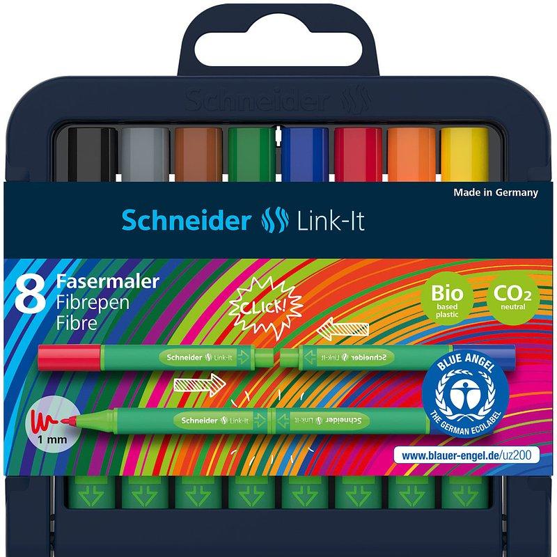35,99 zł Flamastery, Link-It, 8 kolorów.jpg