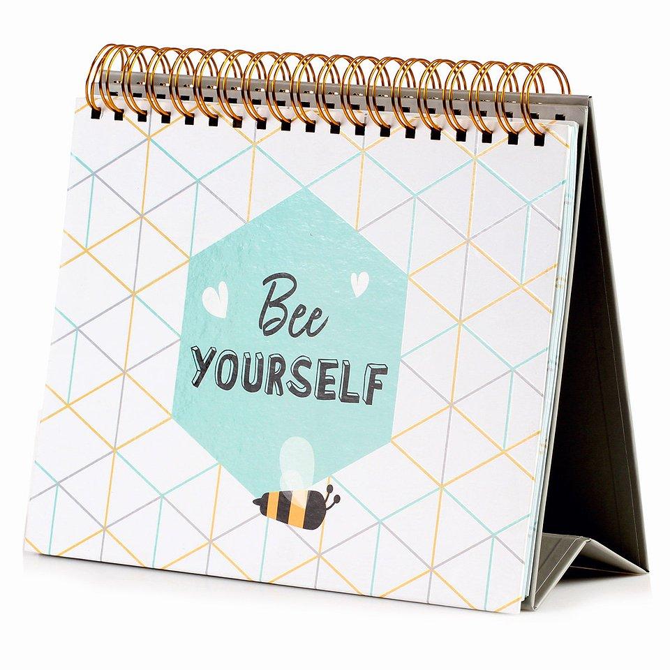 19,99 zł Planner stojący, Bee Happy, 52 kartki.jpg