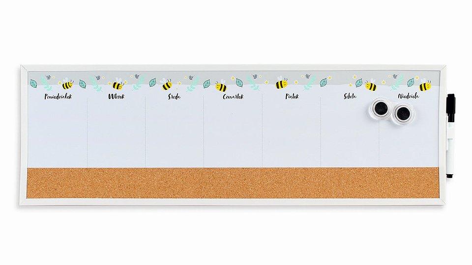 34,99 zł Tablica magnetyczna, Bee Happy, tygodniowa.jpg