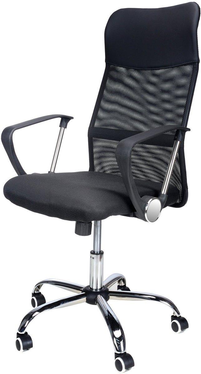 268,00 zł Fotel biurowy FUNFIT HOME&OFFICE Xenos Compact, czarny, 66x48x48 cm.jpg