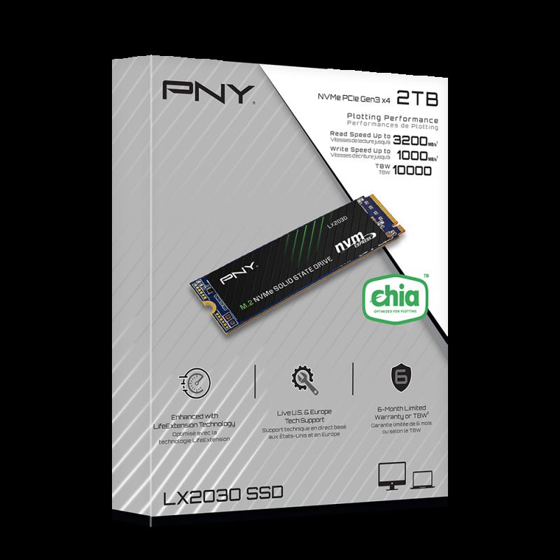 PNY LX2030 M.2 NVMe Gen3 x4 2Tb
