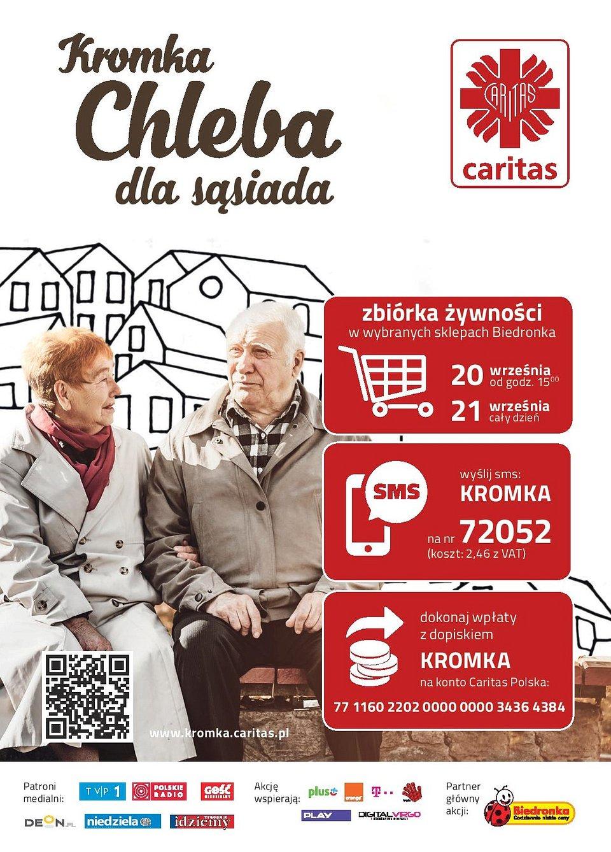 Plakat Kromka Chleba dla Sąsiada 2019