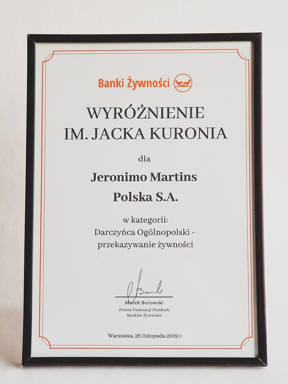 Wyróżnienie_Banki Żywności_Biedronka.jpg