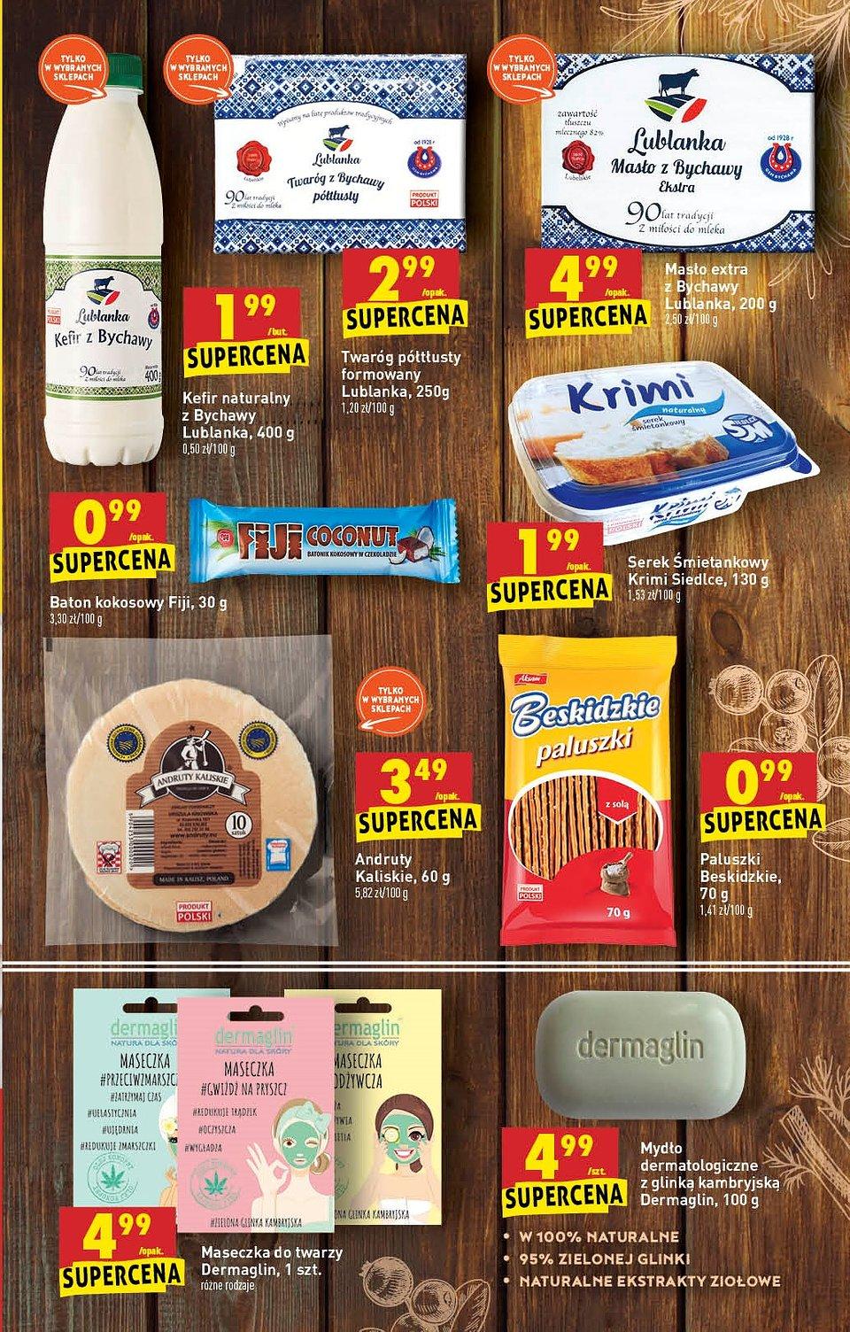 Produkty od małych producentów w ofercie Biedronki