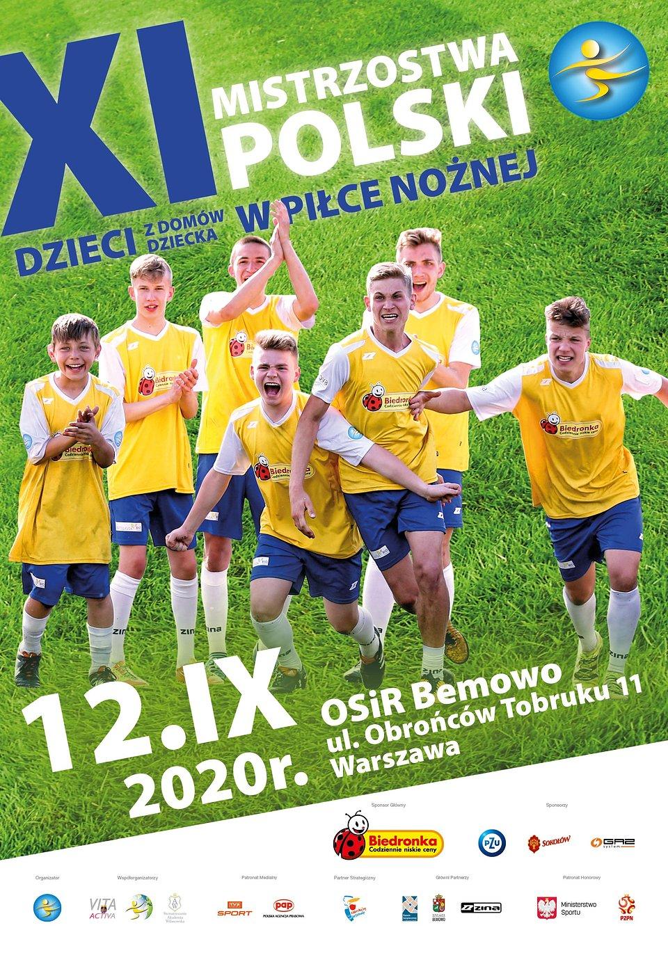 Plakat Mistrzostwa Polski 2020 Nadzieja Na Mundial
