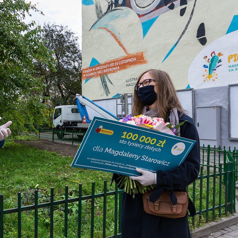 Biedronka_Piórko_mural_Arkadiusz Mierzwa_Magdalena Starowicz.jpg