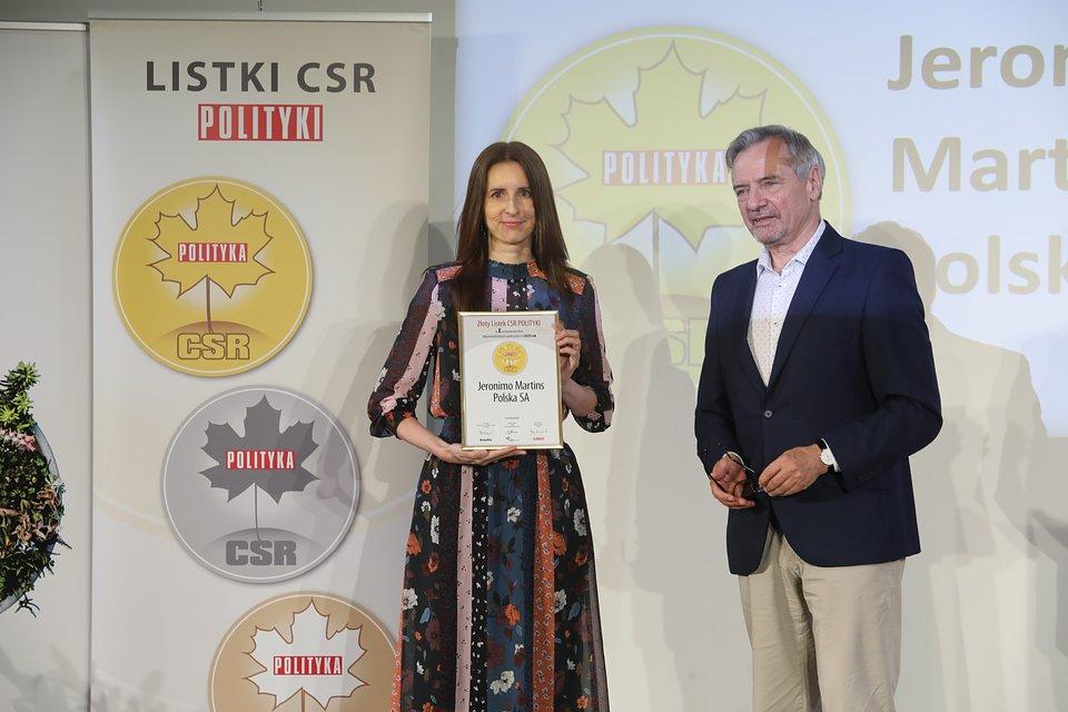 Nagroda została przyznana na oficjalnej gali 8 czerwca