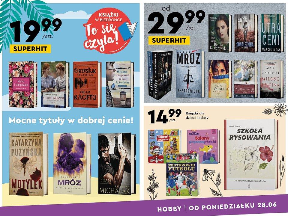Oferta książkowa sieci skierowana jest do dorosłych i dzieci