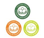 Symbol wskazujący na pochodzenie jaj od kur z wolnego wybiegu, chowu ściółkowego lub ekologicznego