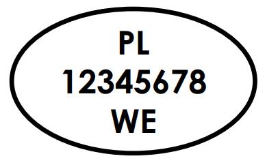Znak weterynaryjny stosowany w Polsce