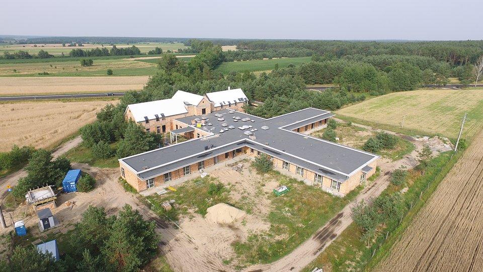 Budowa Hospicjum - październik 2021