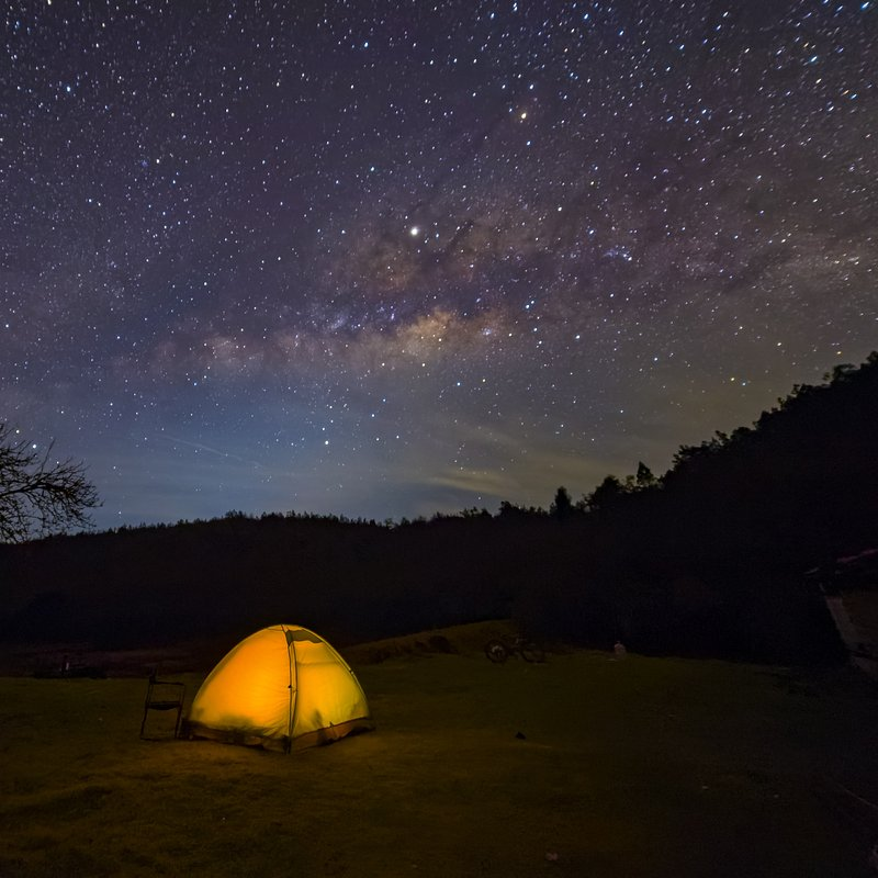 Camping under the stars by Nikunj Banker (India).jpg
