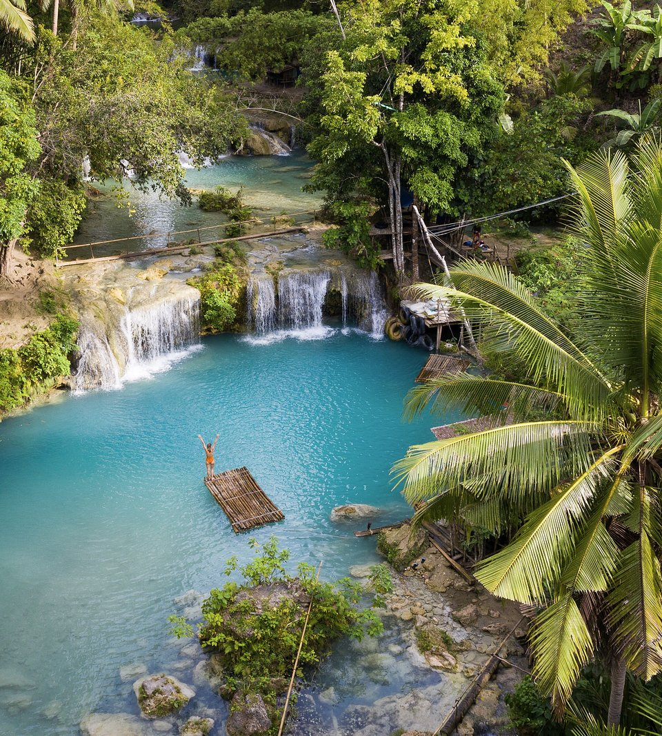 Waterfall in Siquijor Island, Philippines (Carles Alonso / AGORA images)