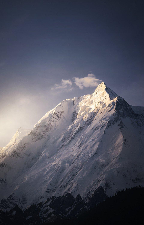 Majestic Rakaposhi mountain, Pakistan (Fawad Malik/AGORA images)