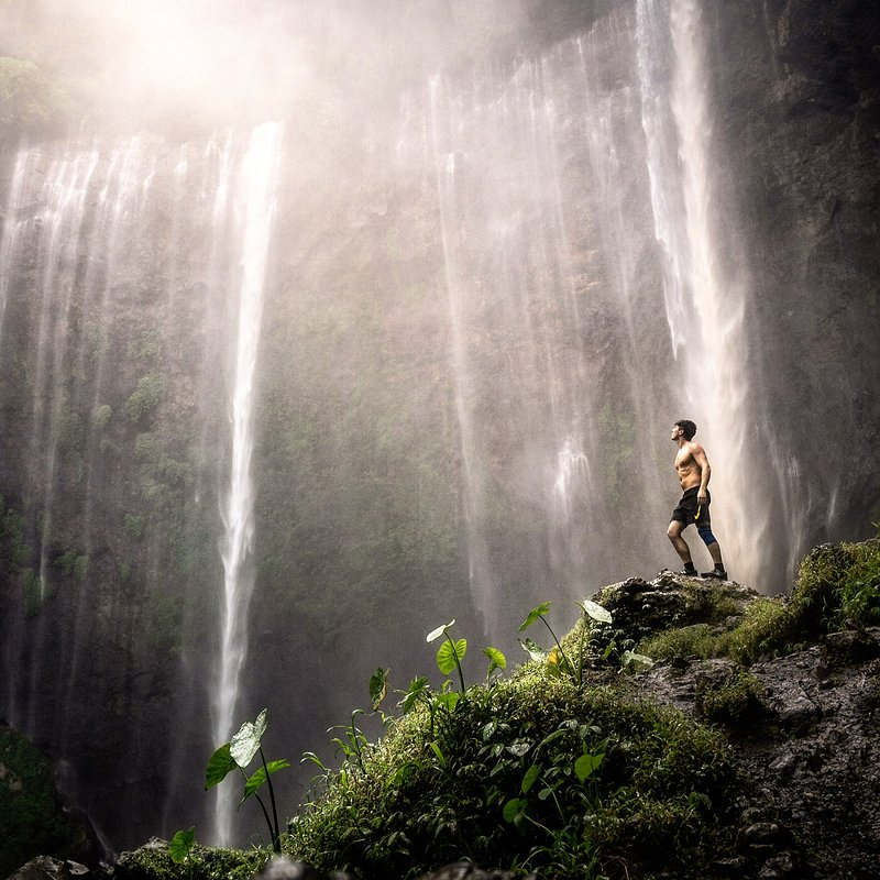 'Indonesia's largest waterfall', Indonesia.jpg