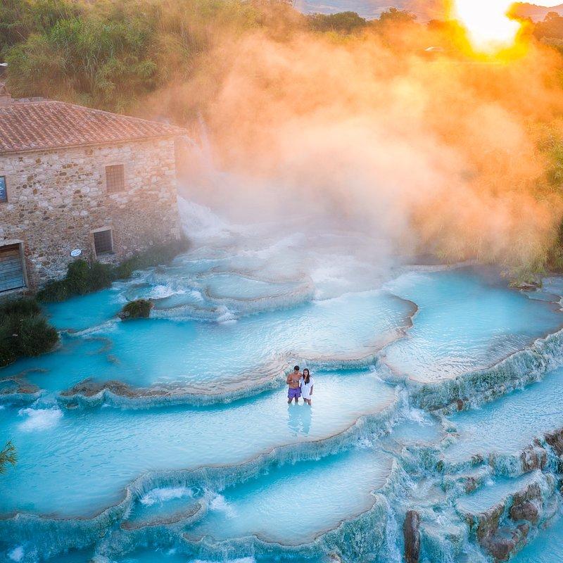 'sunrise bathing in Tuscany', Italy.jpg