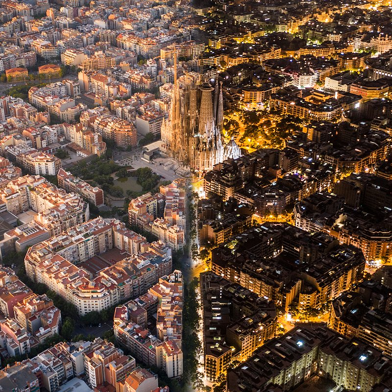 'Day and Night in Barcelona', Spain.jpg