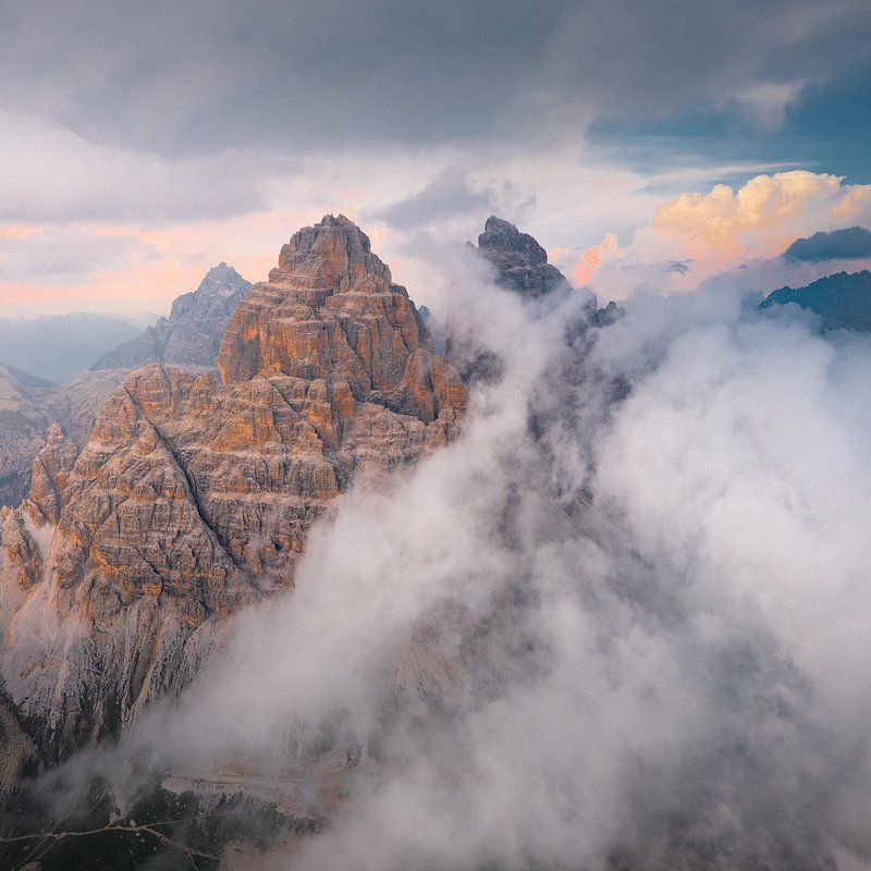 'Moody evening in the Dolomites', Italy.jpg