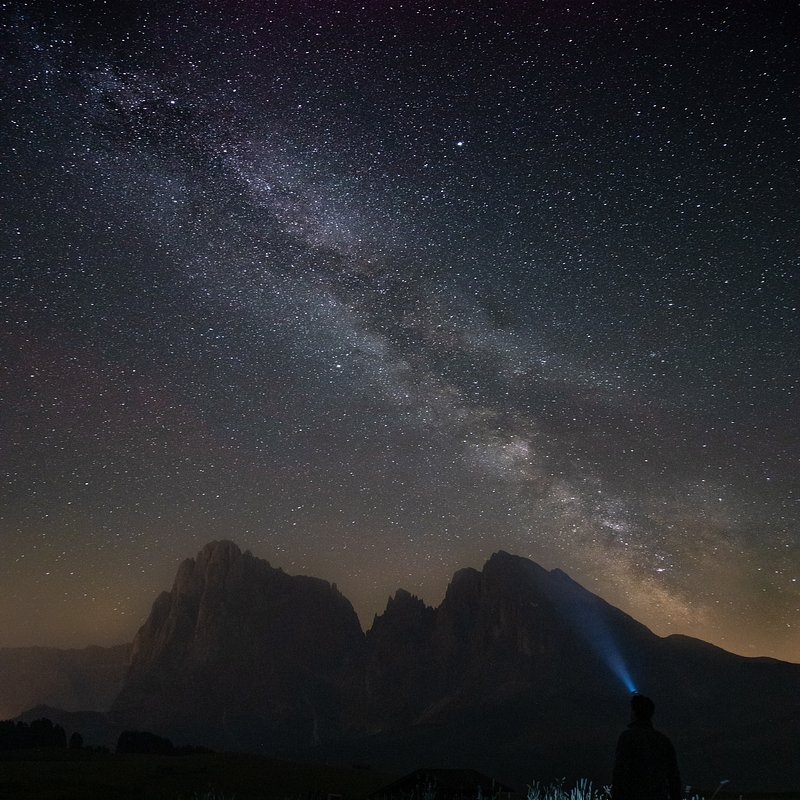 'The Milky Way over the Dolomites', Italy.jpg