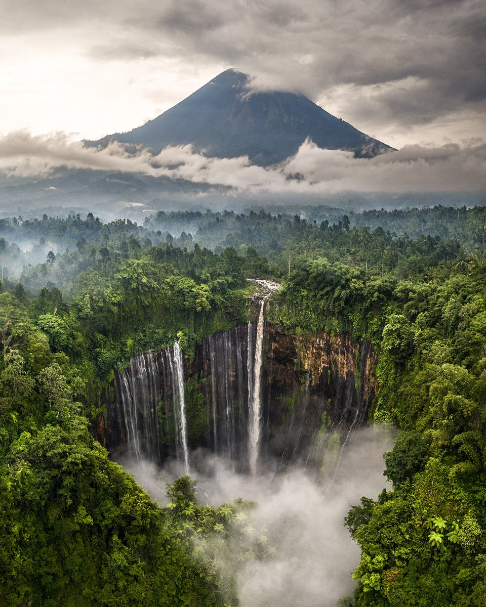 'Indonesia's largest waterfall' (Hugo Healy/AGORA images)