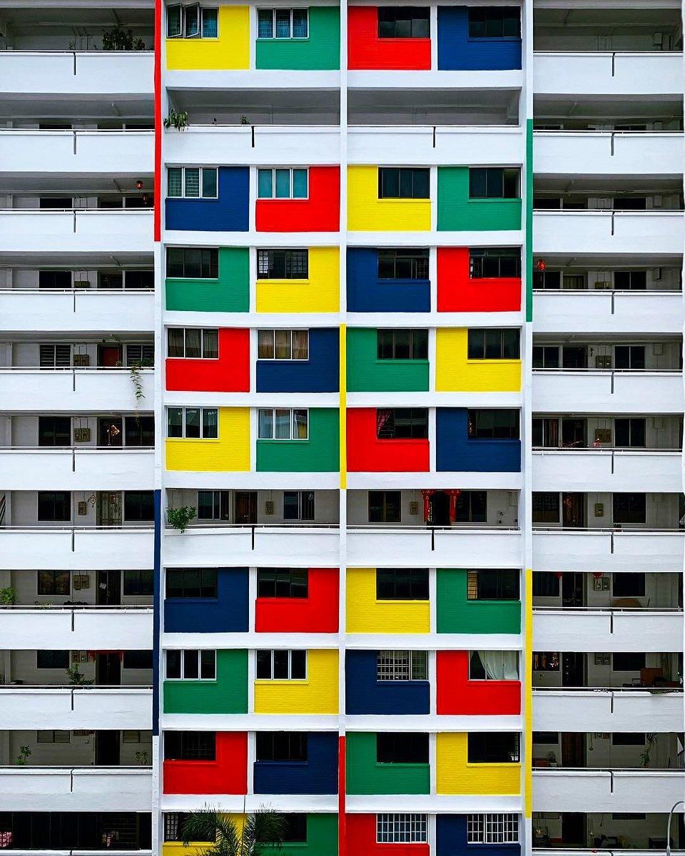 Public housing in Singapore (Noemi/AGORA images)