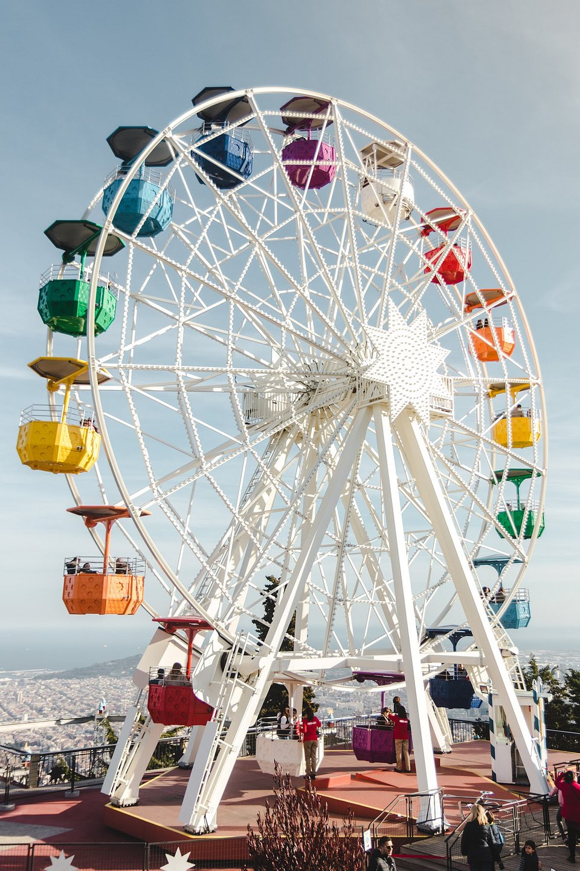 Ferris wheel of Tibidabo, Barcelona (Leonardo Rodriguez/AGORA images)