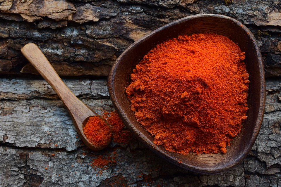 This foodie photographer shot this bowl of red spices in the comfort of his home in NYC  (Nodar Chernishev/AGORA images)
