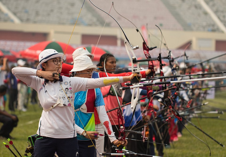 International Solidarity Archery Championships in Dhaka, Bangladesh (Azim Ronnie/AGORA images)