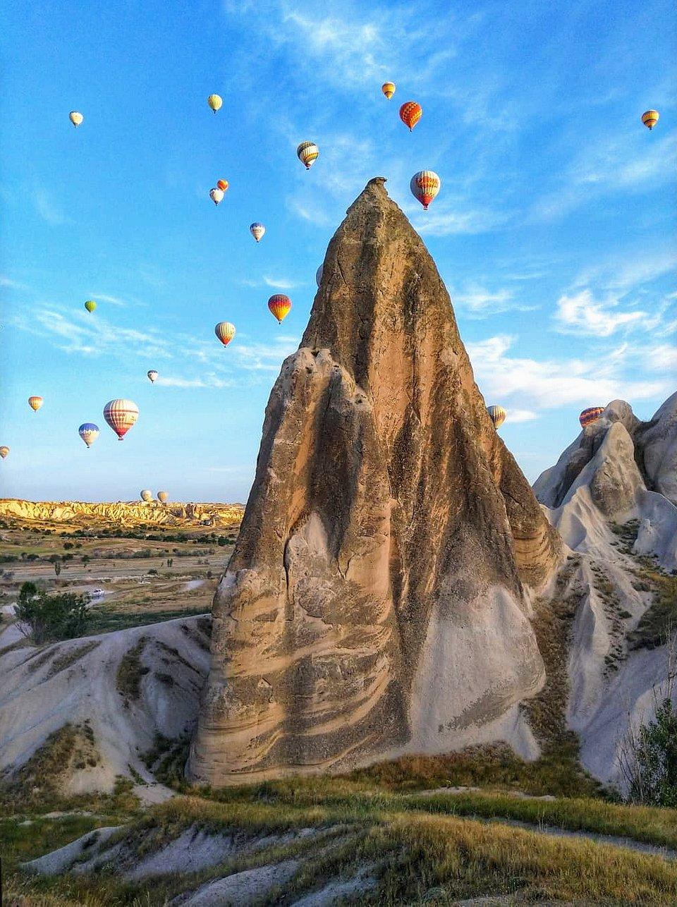 📍Cappadocia, Turkey (Nadège Delalieu/AGORA images)