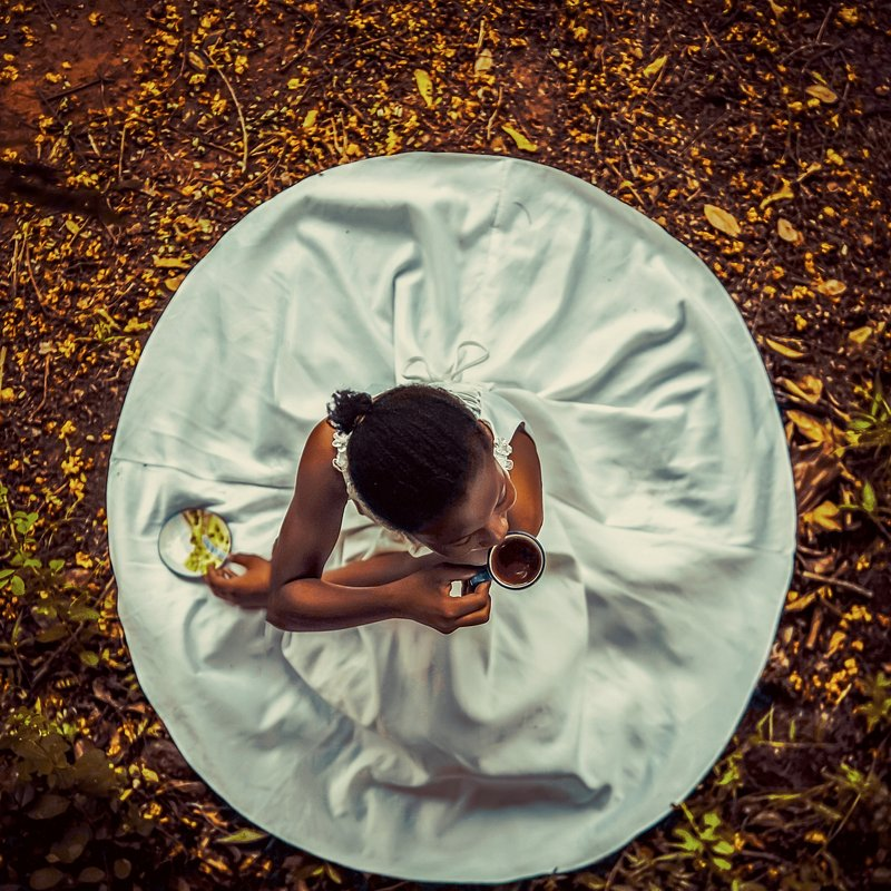 PORTFOLIO Michael Aboya'  Beauty Circle   In a dress of bright confidence, beauty began the moment she decided to be herself, and to appreciate herself.' (Michael Aboya:Agora).jpg