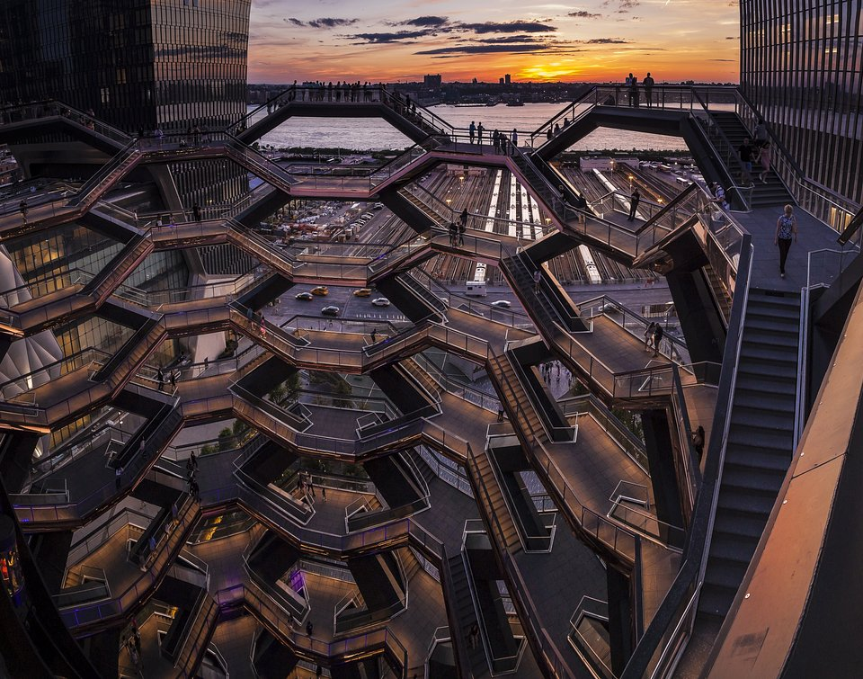 Location: The Vessel, New York City, USA