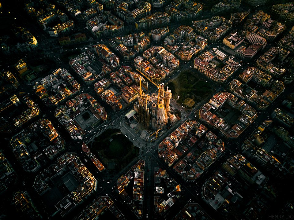 Location: Sagrada Familia, Barcelona, Spain