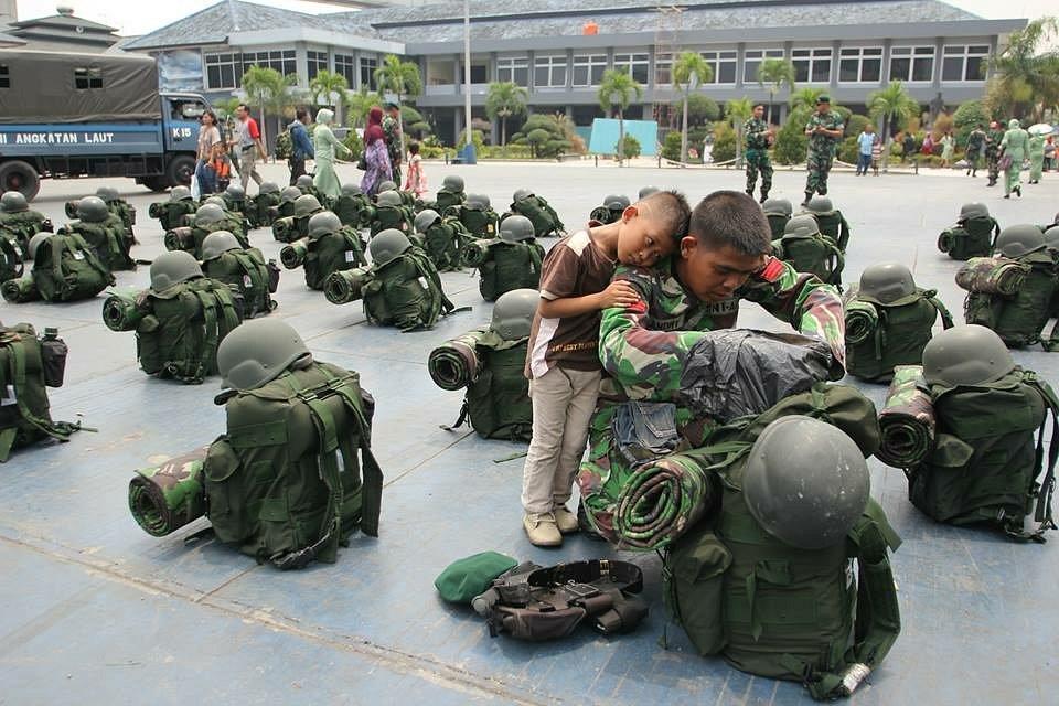 Location: Military Naval Command base, Jakarta, Indonesia