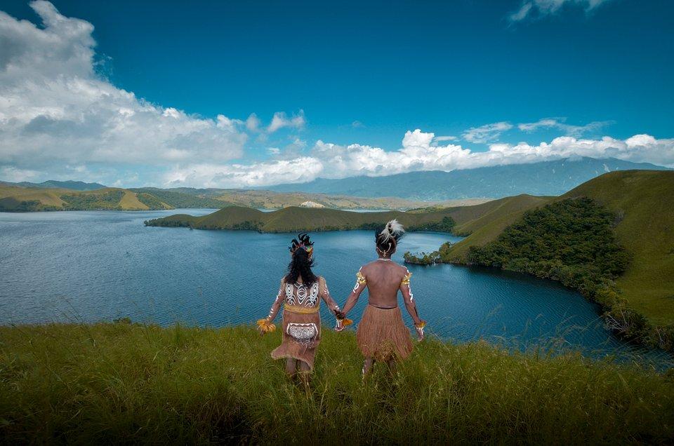 Location: Sentani, Papua, Indonesia