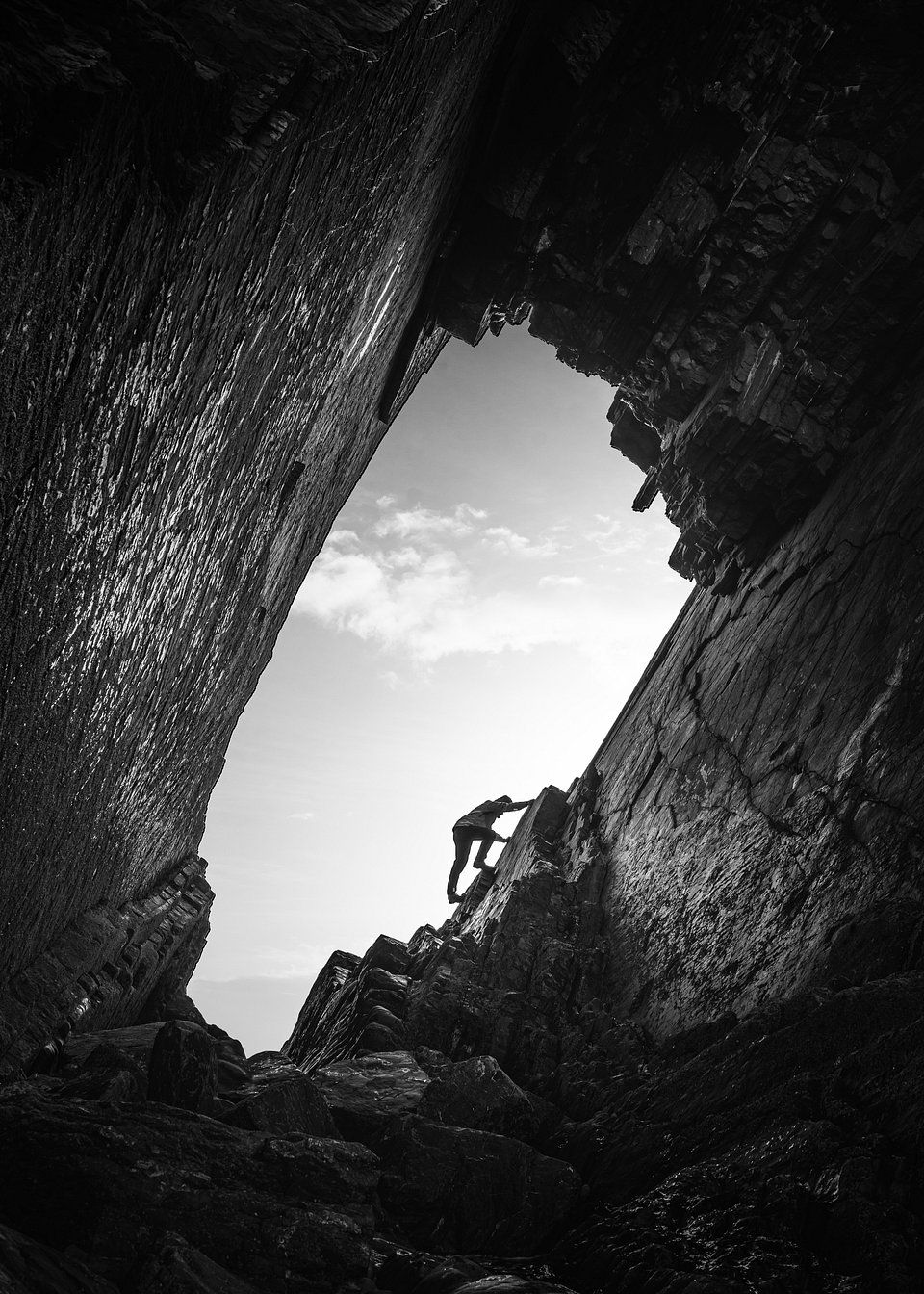 Location: BlackChurch Rock, North Devon, UK