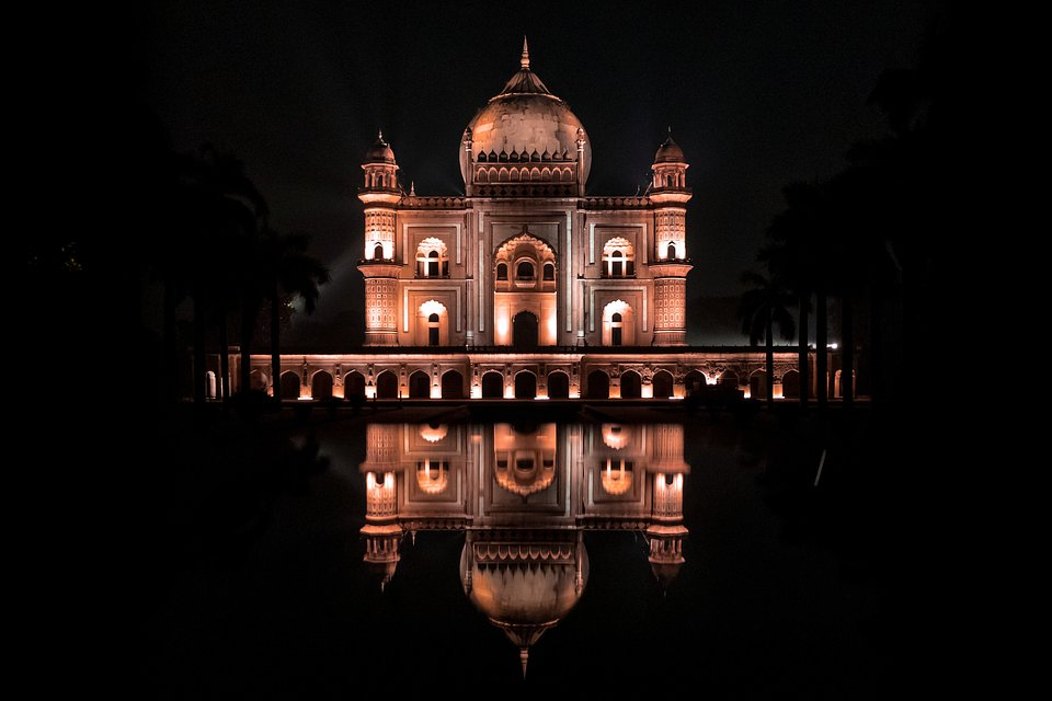 Location: Safdarjung tomb, Dehli, India