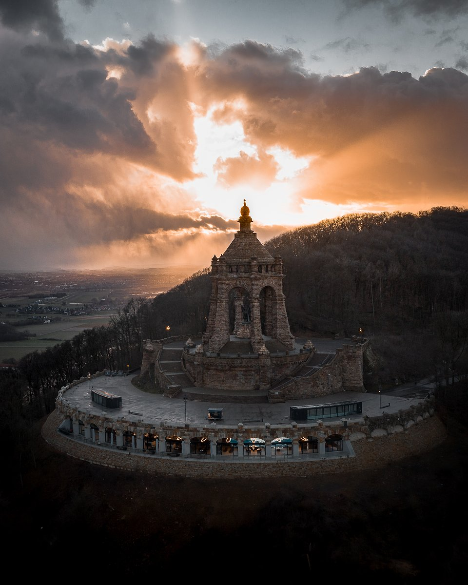 Location: Emperor William Monument, Porta Westfalica, Germany