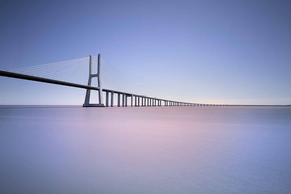 Location: Vasco da Gama Bridge, Lisboa, Portugal