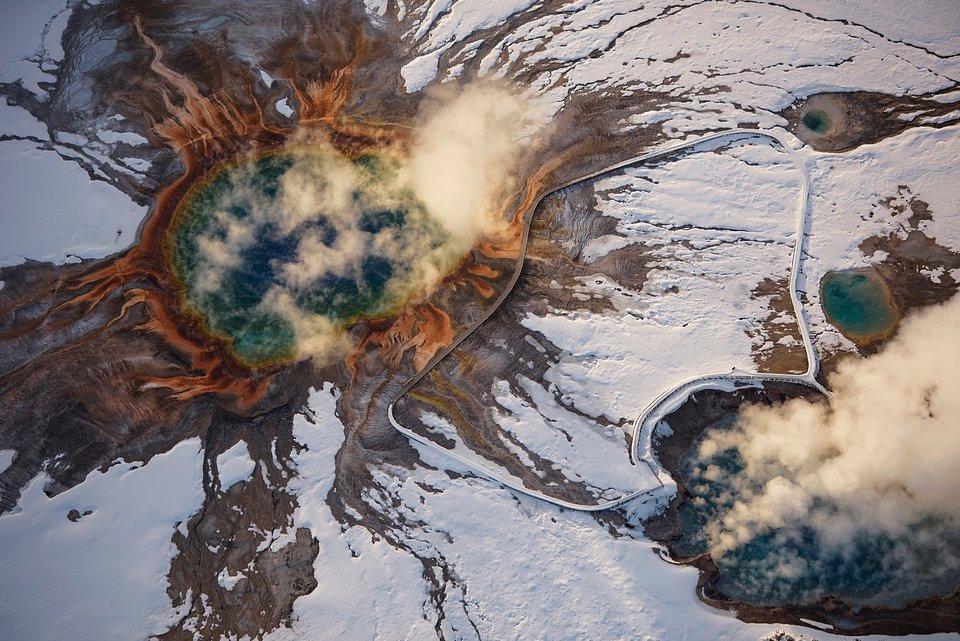 Location: Midway Geyser Basin, Yellowstone, USA